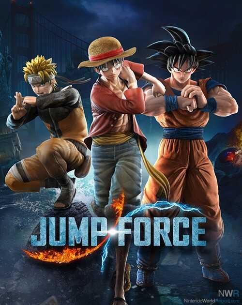 Anime Crossover Brawler Jump Force startet mit neuen Charakteren auf Schalter