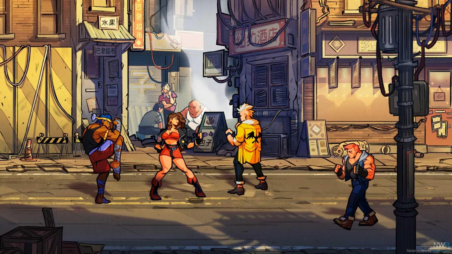 Streets Of Rage 4 Lands Erscheinungsdatum 30. April