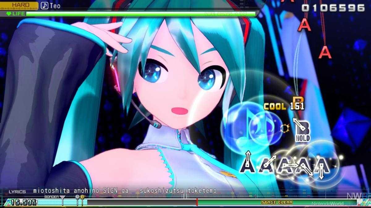 Hatsune Miku: Projekt Diva Mega Mix auf Schalter fallen 15. Mai