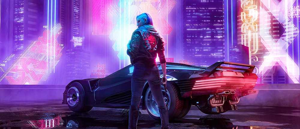 CD Projekt RED zeigte wunderschöne Cyberpunk 2077-Poster, die in ihrem Laden verkauft werden
