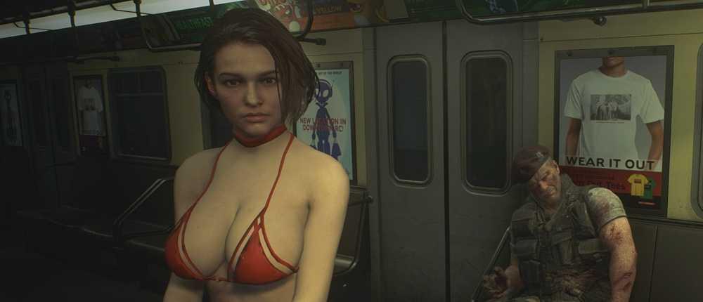 Der neue Mod für Resident Evil 3 kleidet Jill in einen sexy Badeanzug und vergrößert ihre Brüste