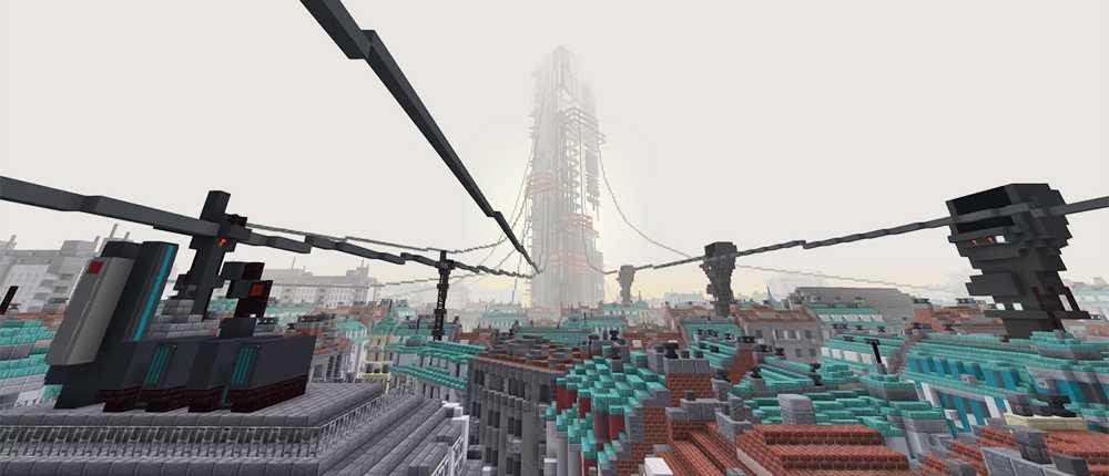 Halbwertszeit: Alyx wird in Minecraft erstellt. Das Video zeigte, wie das Spiel aussieht