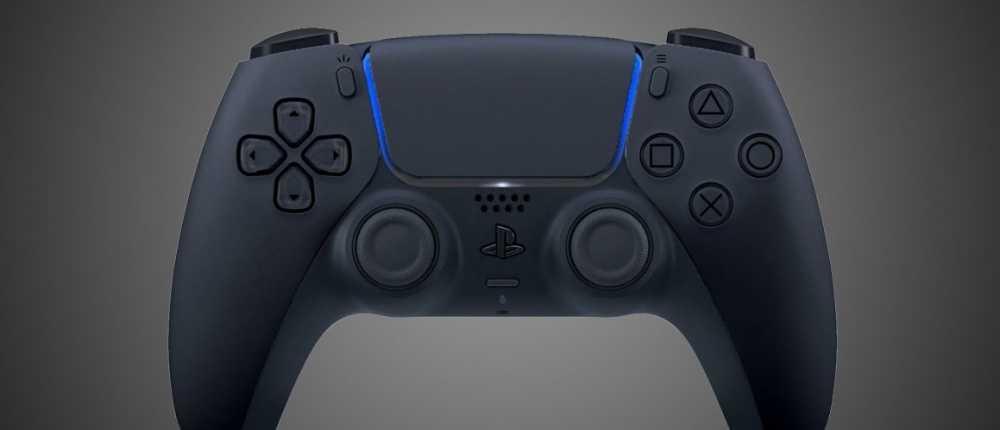 Lüfter zeigt DualSense für PS5-Controller mit Hintergrundbeleuchtung - Video