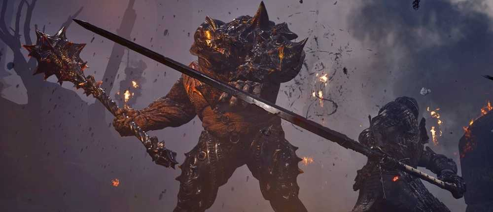 Neues Dark Souls-Klon-Gameplay mit Parade, Fossilisierung und Bomben