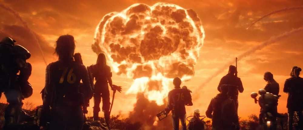 Spieler in Fallout 76 werfen Atombomben auf Siedlungen mit lebenden NPCs. Aber sie leben dort weiter
