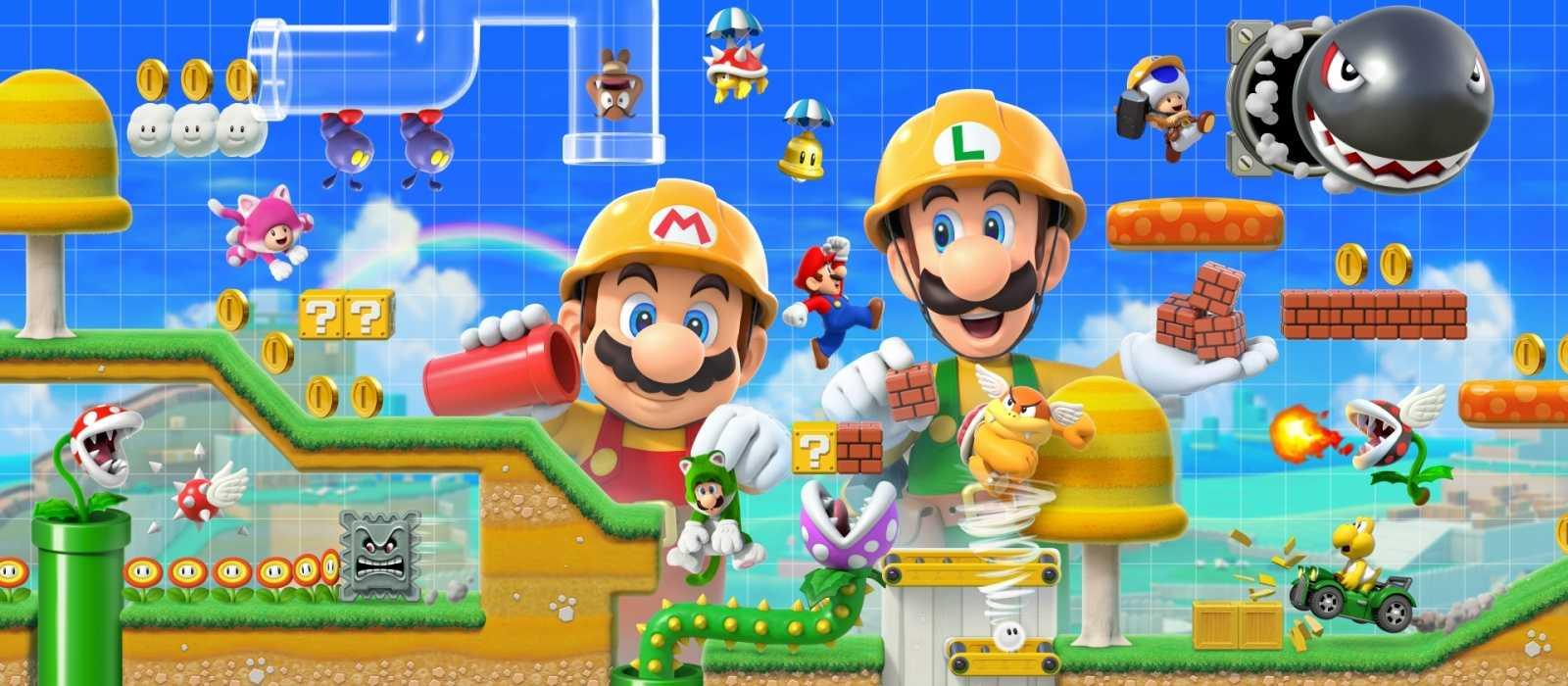 Spieler werden in Kürze in Super Mario Maker 2 - Details ihre eigenen Welten erschaffen können