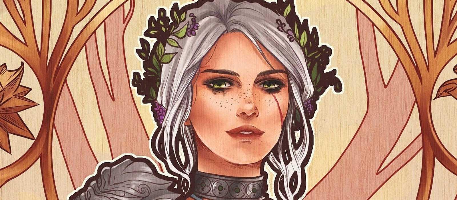 Coole Kunst von Ciri und Triss veröffentlicht. Die Schöpfer von The Witcher 3 sind beeindruckt