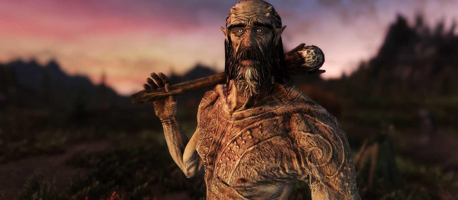 Ein Fan hat die Texturen von Kreaturen in der Skyrim Special Edition mithilfe von KI verbessert