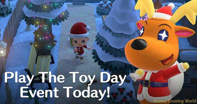 Feiern Sie Heiligabend in Animal Crossing: New Horizons Heute mit dem Toy Day Event!