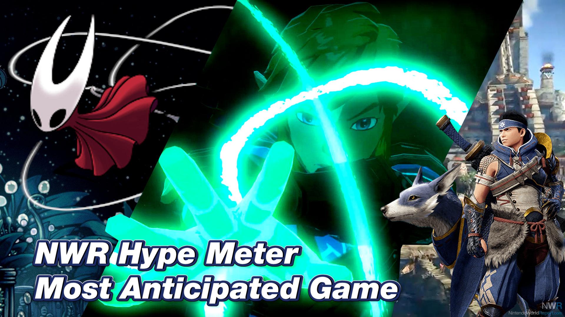 Schauen Sie sich an, welche Spiele mit dem 2021 NWR Hype Meter am meisten erwartet werden