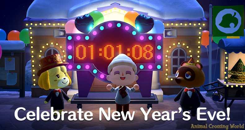 Feiern Sie Silvester in Animal Crossing: New Horizons Heute Abend - Verpassen Sie diese exklusiven Artikel nicht