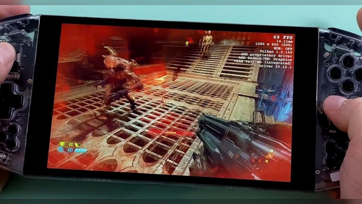 Leistungsstärker als ein Computer: Tests der tragbaren Konsole AYA Neo auf Ryzen mit Crysis, GTA 5 und Cyberpunk 2077