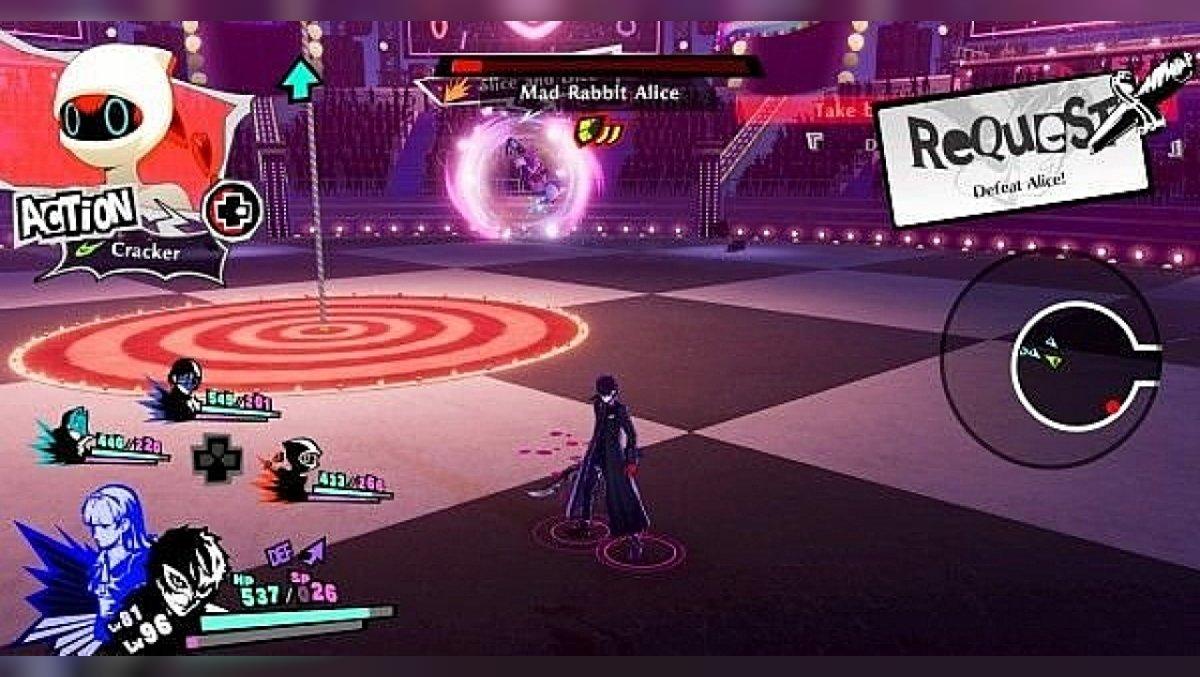 Wie man Alice in Persona 5 Strikers besiegt