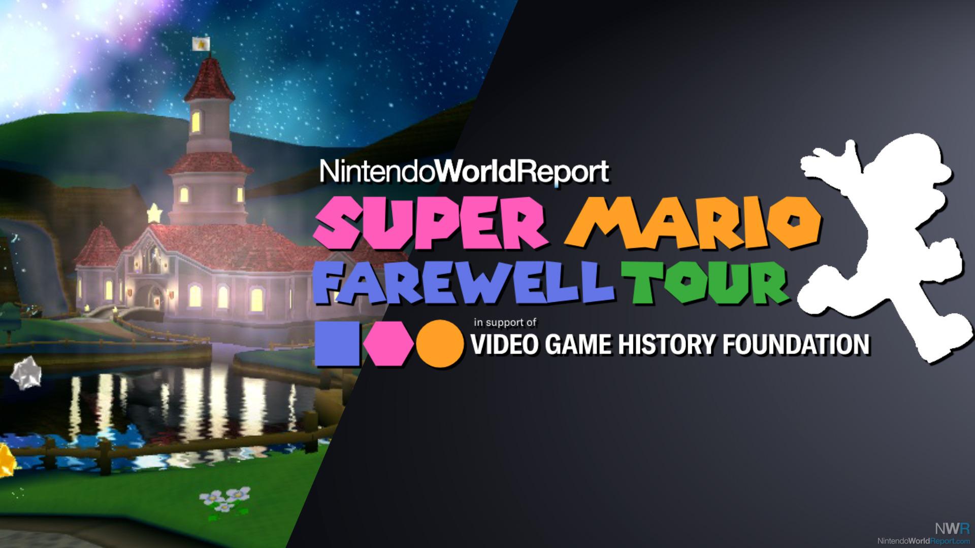 Marios Abschiedstour - Livestream für die Video Game History Foundation 31. März