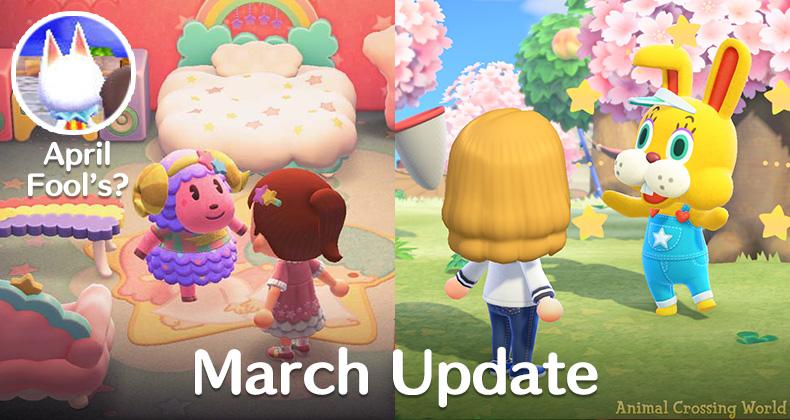 Animal Crossing: New Horizons März Update - Was wir wissen, Erscheinungsdatum, Vorhersagen