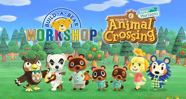 Build-A-Bear-Werkstatt X. Animal Crossing: New Horizons Sammlung offiziell angekündigt