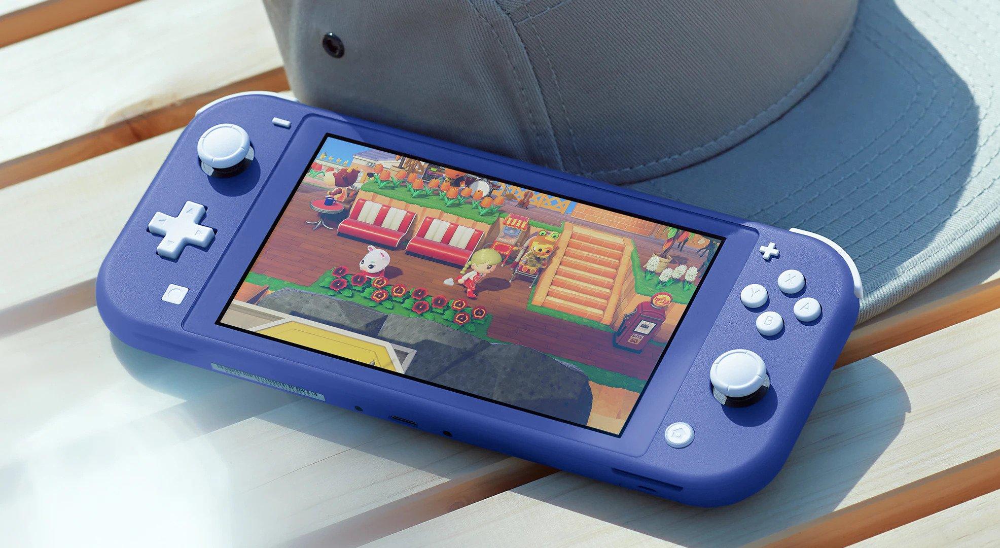 Atemberaubende neue blaue Nintendo Switch Lite-Konsole wird diesen Mai weltweit veröffentlicht