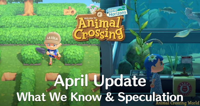 Animal Crossing April Update: Was wir wissen, Vorhersagen, Erscheinungsdatum