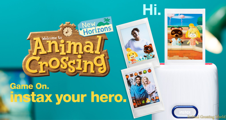 Drucken Sie Screenshots und niedliche Bilder von Animal Crossing mit der Instax Mini Link-Drucker-App für Nintendo Switch