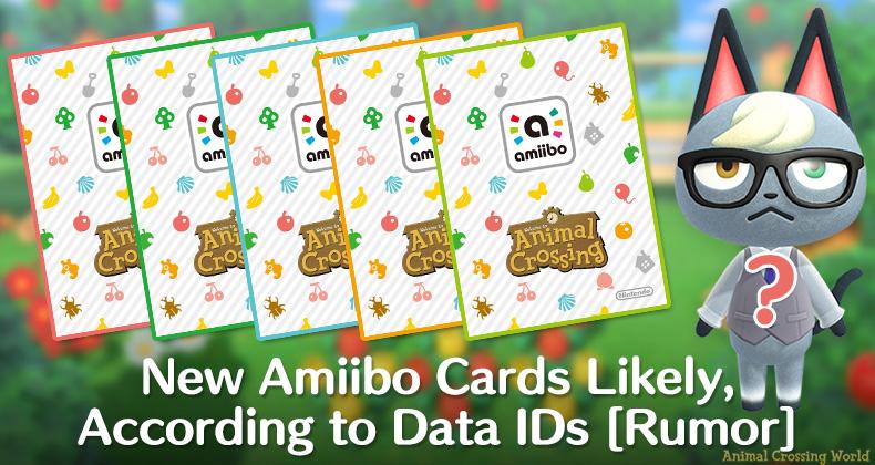 Neue Tierkreuzungs-Amiibo-Kartenserie wahrscheinlich auf dem Weg, laut Daten-IDs [Rumor]
