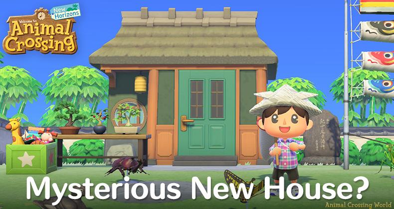 Was ist dieses mysteriöse neue Dorfbewohnerhaus in der Tierkreuzung? April Update Screenshots?