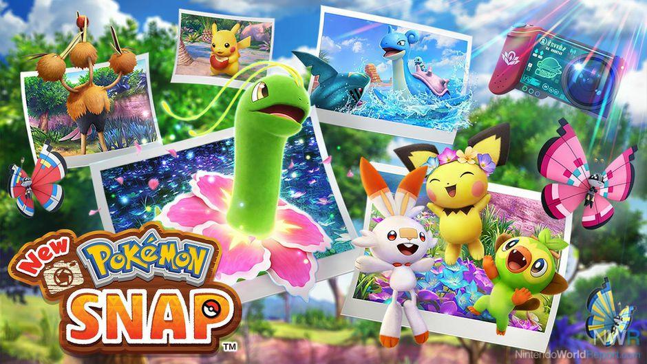 New Pokémon Snap Photodex Checklist