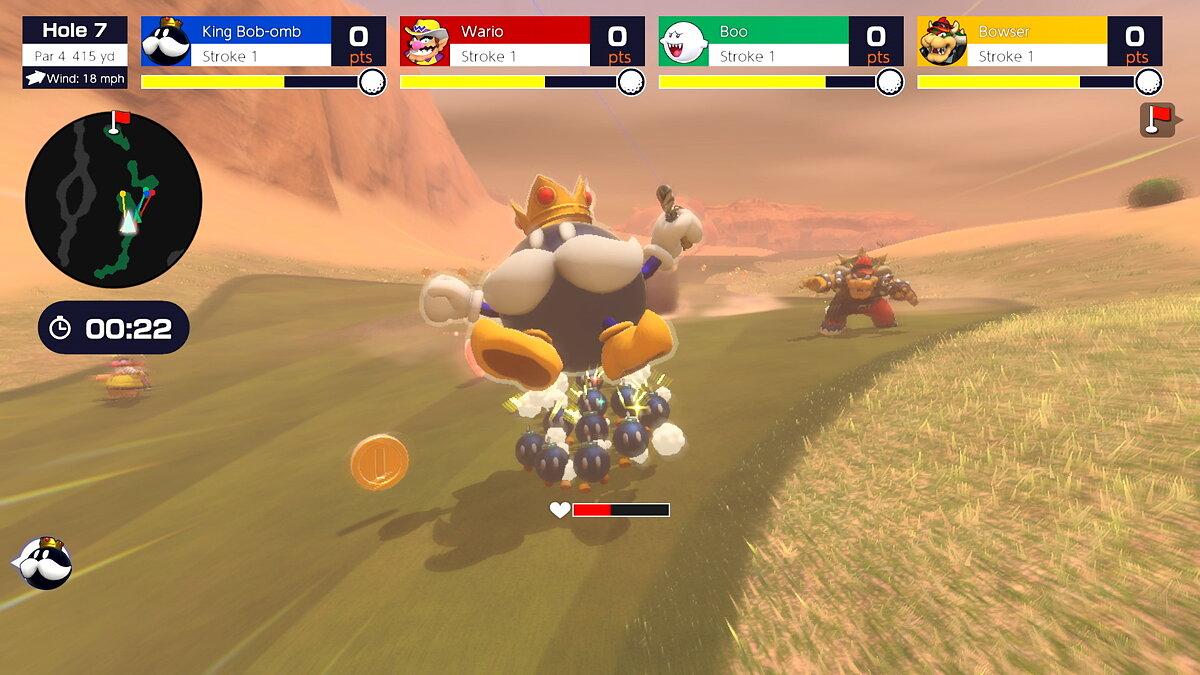Mario Golf: Super Rush Trailer enthüllt farbenfrohe Charaktere, neuen Modus und verschiedene Golfplätze