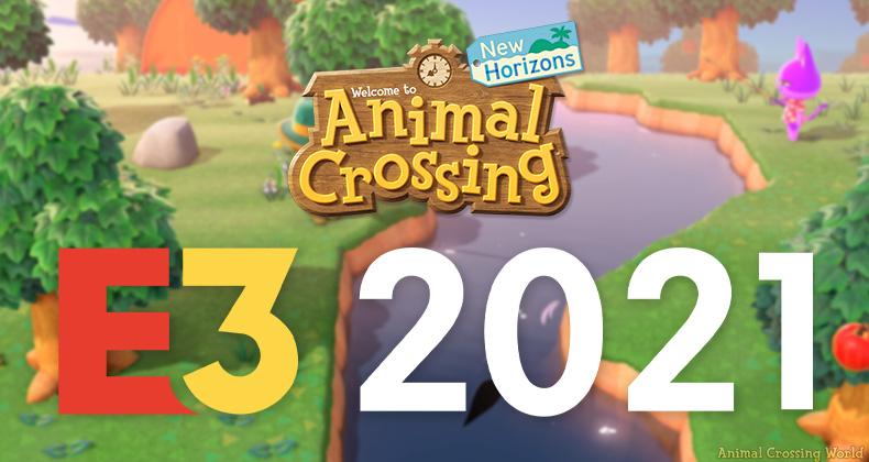 Animal Crossing: New Horizons Auf der E3 2021: Wird es Update-News geben und wann ist die E3?