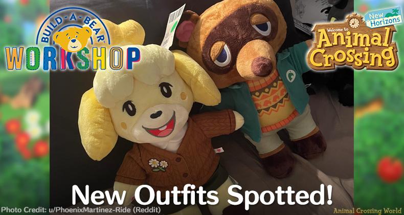 Neue Animal Crossing X-Winter-Outfit-Charaktere, die in Australien entdeckt wurden