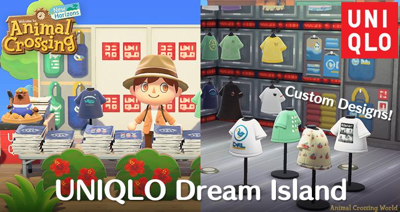 UNIQLO Dream Island öffnet mit Kleidungsdesigns für Sie Animal Crossing: New Horizons Charakter