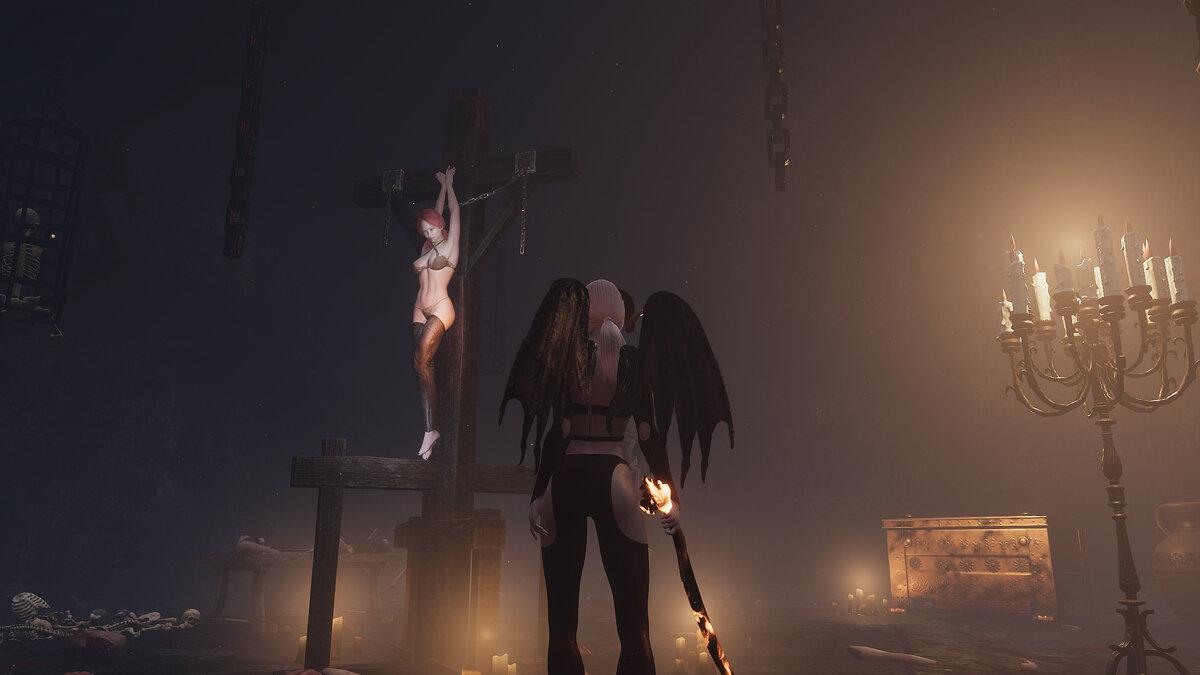 Die Autoren des Erotikspiels um den Sukkubus She Will Punish Them haben ein neues Update gezeigt - Screenshots und Video
