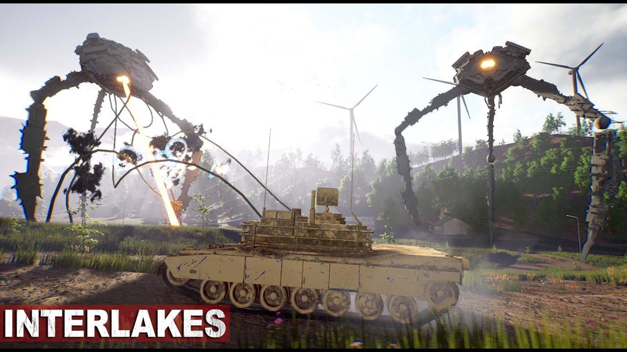 """Veröffentlichung des Gameplays eines fantastischen Open-World-Survival-Shooters, der dem """"War of the Worlds"""" ähnelt"""