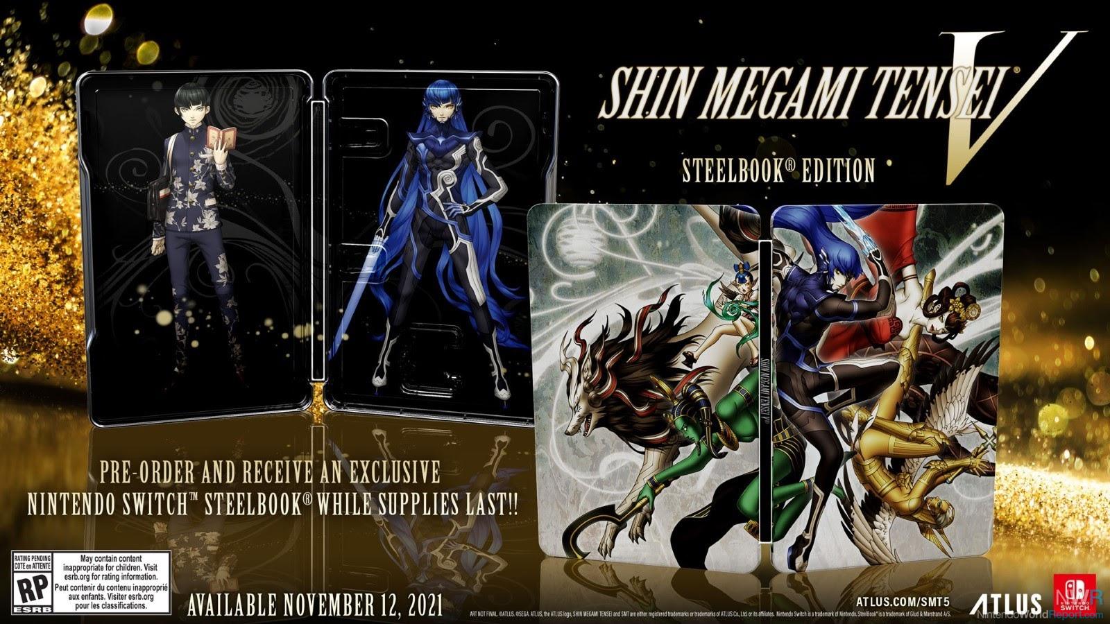 Neuer Shin Megami Tensei V Trailer und physische Vorbestellungen