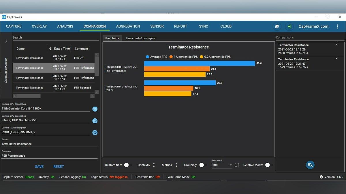 Die AMD FidelityFX Super Resolution Technology übertaktet die integrierte Intel-Grafik.  So stark ist die Framerate gestiegen