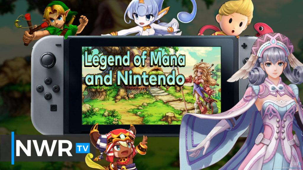 Legend of Manas Nintendo-Verbindungen