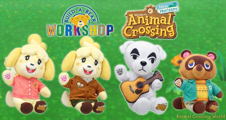 Build-A-Bear X Animal Crossing Collection: Charaktere, Auffüllungen, Kaufanleitung,