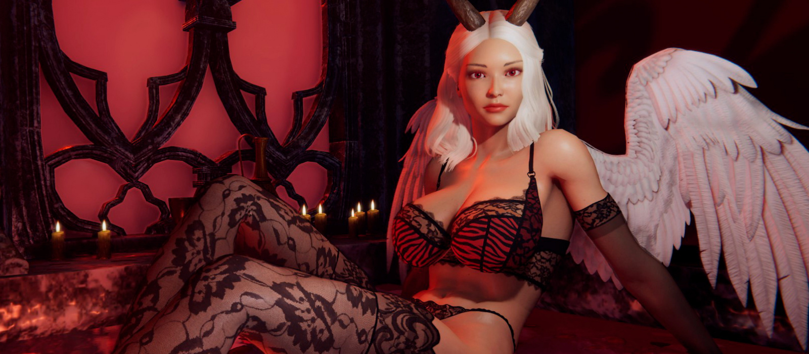 Die Autoren des Erotikspiels um den Sukkubus She Will Punish Them haben ein neues Update gezeigt – Screenshots und Video