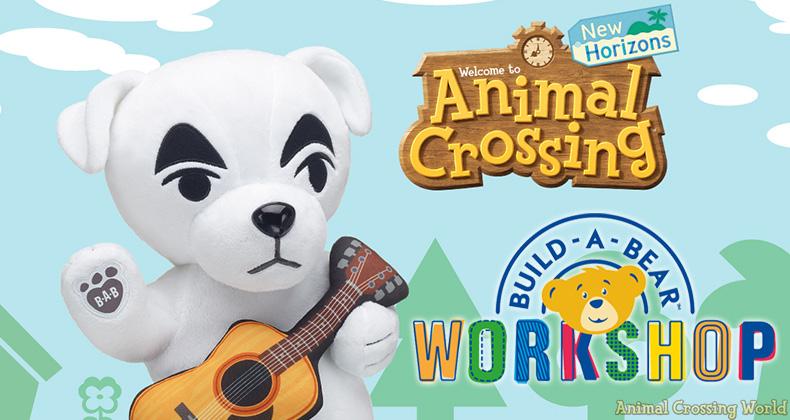 KK Slider ist der neueste Charakter, der sich Build A Bear X anschließt Animal Crossing: New Horizons Sammlung