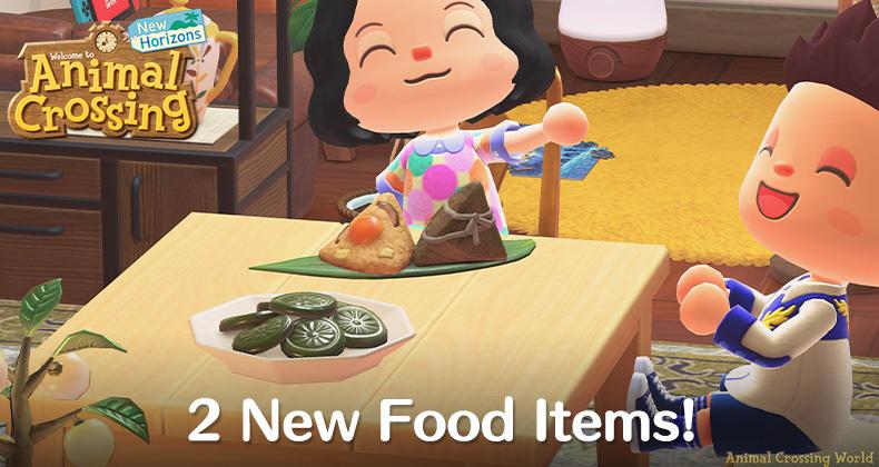 Neue Lebensmittel für Drachenboot- und Dano-Festivals kommen in Animal Crossing: New Horizons Heute