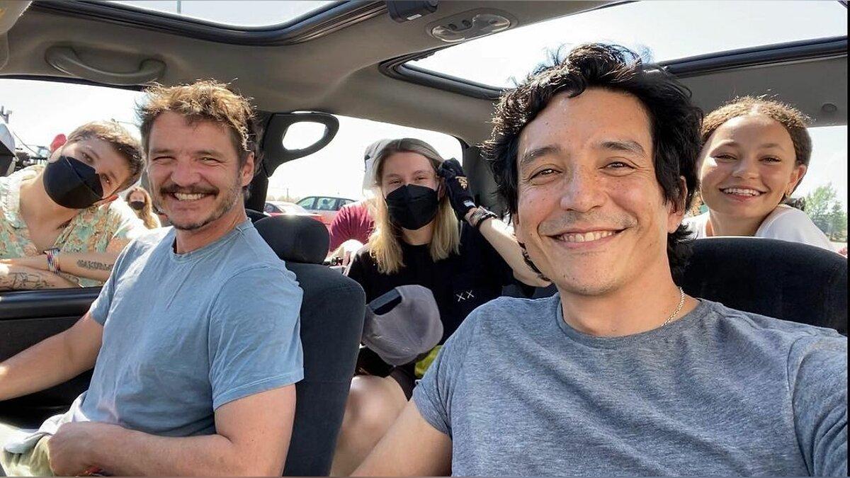 Joel, seine Tochter Sarah und sein Bruder Tommy waren auf