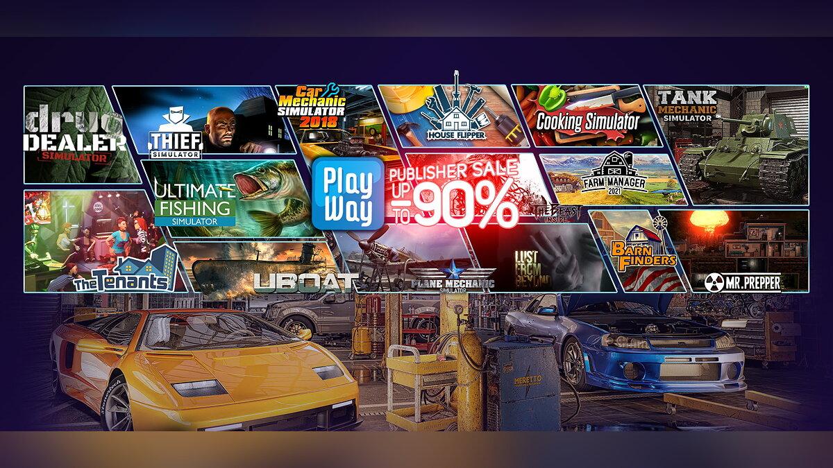 PC-Spiele ab 16 Rubel: Der Verkauf von Simulatoren begann auf Steam mit Rabatten von bis zu 90%