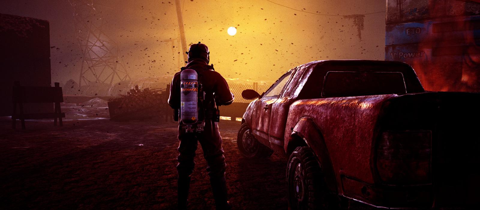 Ein atmosphärischer postapokalyptischer Shooter mit Schießereien und Fahrzeugen wird auf Steam veröffentlicht