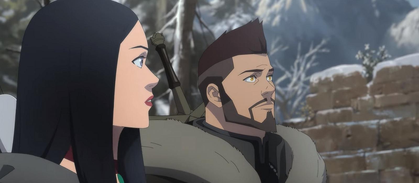 Vesemir gegen die Armee der Toten: Im neuen Witcher-Anime-Trailer gibt es viele Kampfszenen