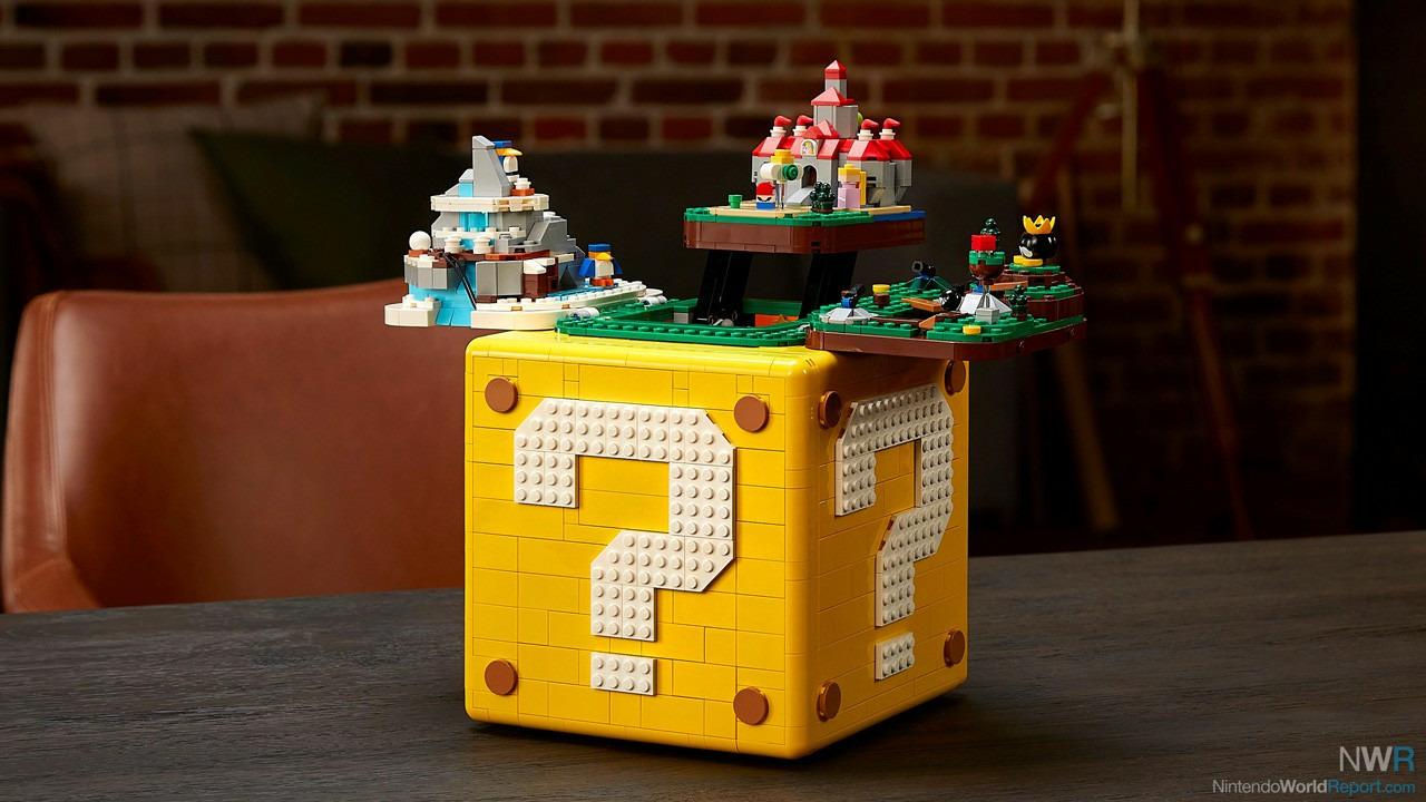 25-jähriges Jubiläum von Super Mario 64 LEGO Set Honors Game am 1. Oktober