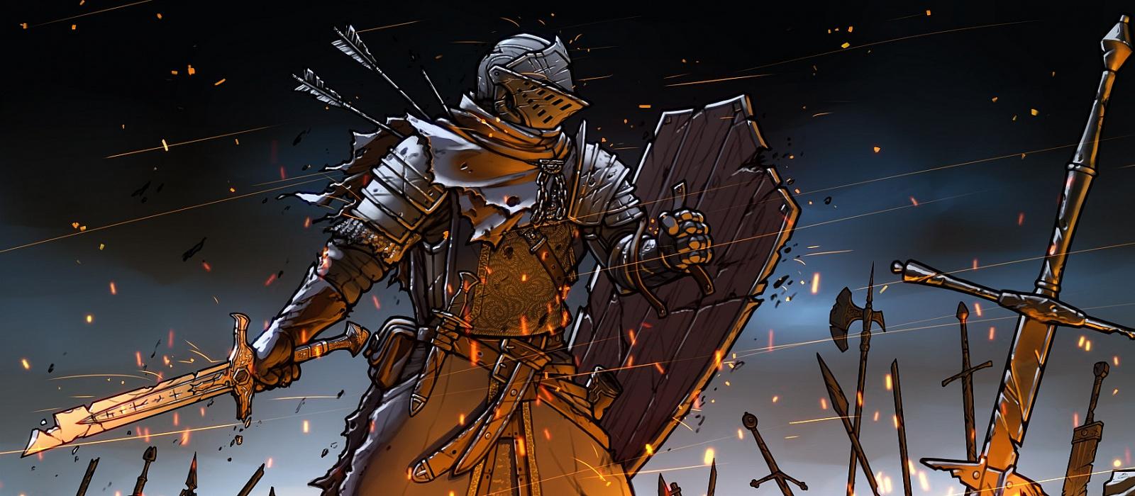 Dark Souls-Fan schaffte es an die Spitze von Reddit und zeigte sich in der Rüstung eines Elite-Ritters – Foto