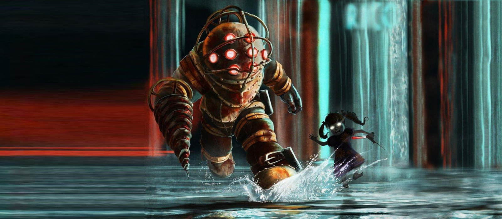 Das Video zeigte, dass es ungewöhnlich war, wenn es 2D-Grafiken in Bioshock gab