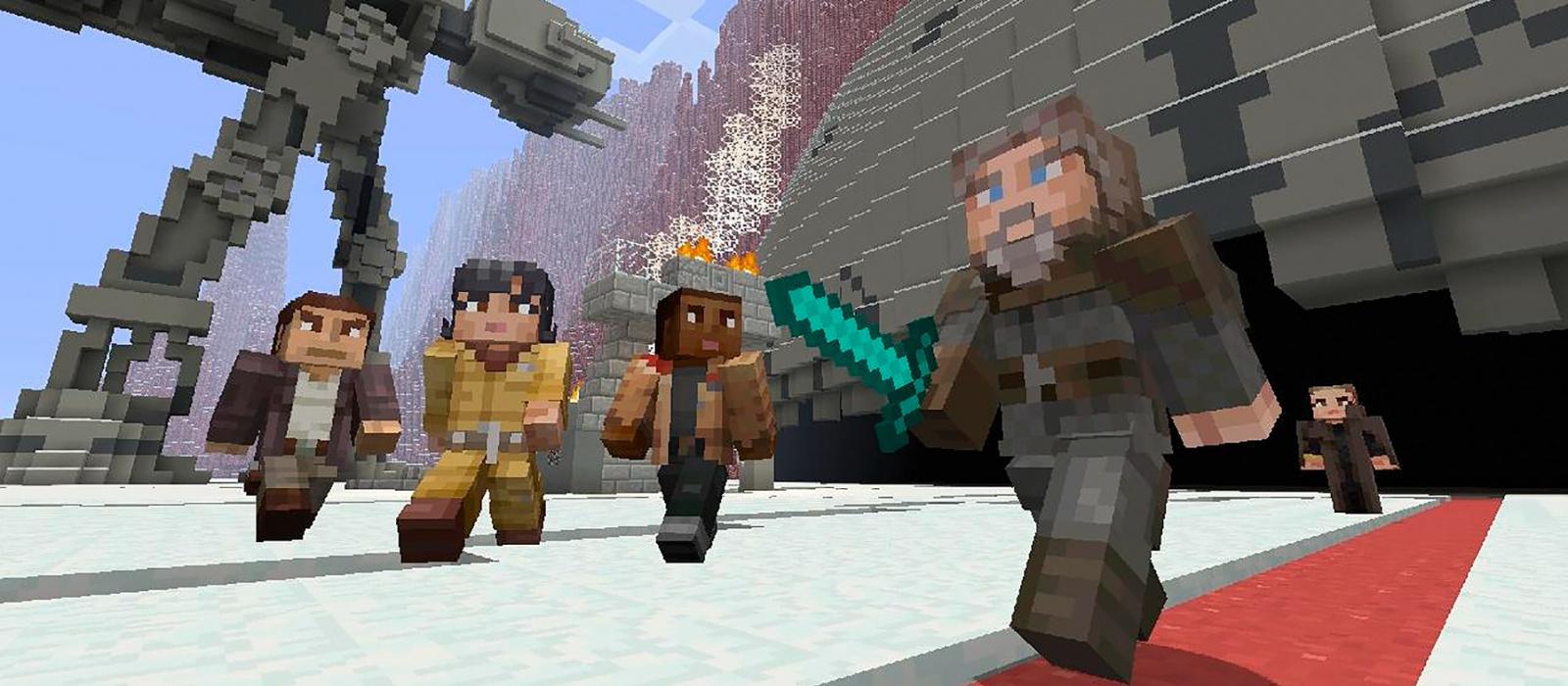 Ein Fan hat die Planeten Tatooine und Coruscant aus Star Wars in Minecraft nachgebaut – ein ganzes Jahr hat es gedauert