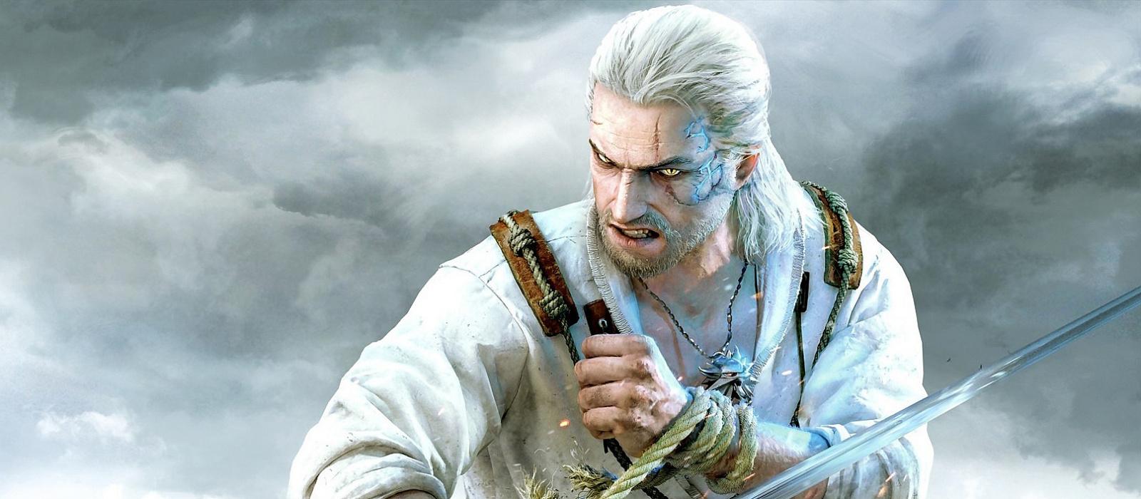 Ein lustiger Fehler in The Witcher 3 hat Geralt zu einer Brünetten gemacht.  Die Spieler sahen ihn als John Wick und Corvo von Dishonored