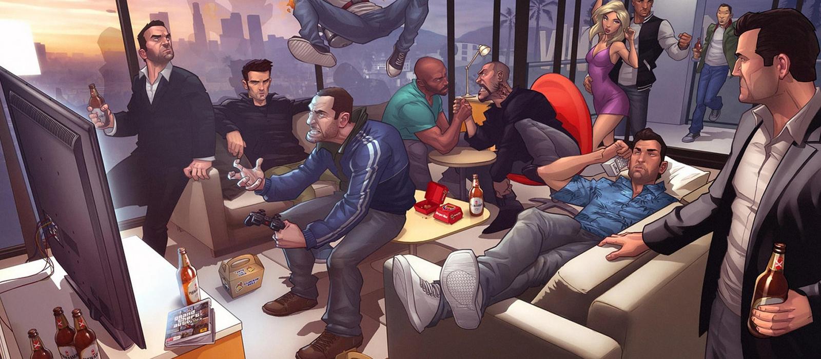 Reddit-Nutzer behaupten, im neuesten GTA 5-Trailer einen Hinweis auf GTA 6 gefunden zu haben