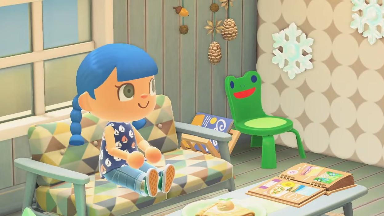 Der berüchtigte Froggy Chair kehrt zurück zu Animal Crossing: New Horizons In Version 2.0